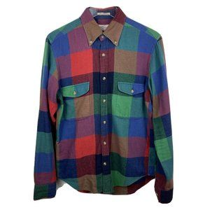 Gant Rugger Plaid Shirt S Multicolor Country Twill